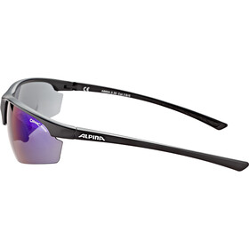 Alpina Tri-Effect 2.0 Glasses black matt/blue mirror